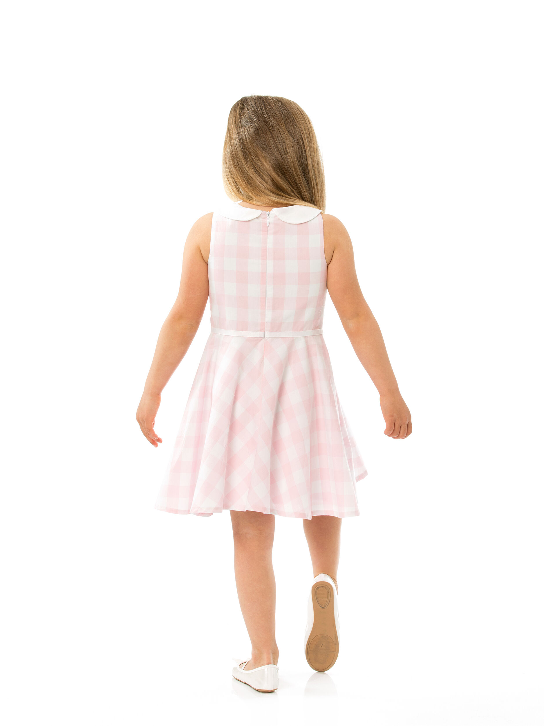 Girls 3-7 Gingham Skater Dress