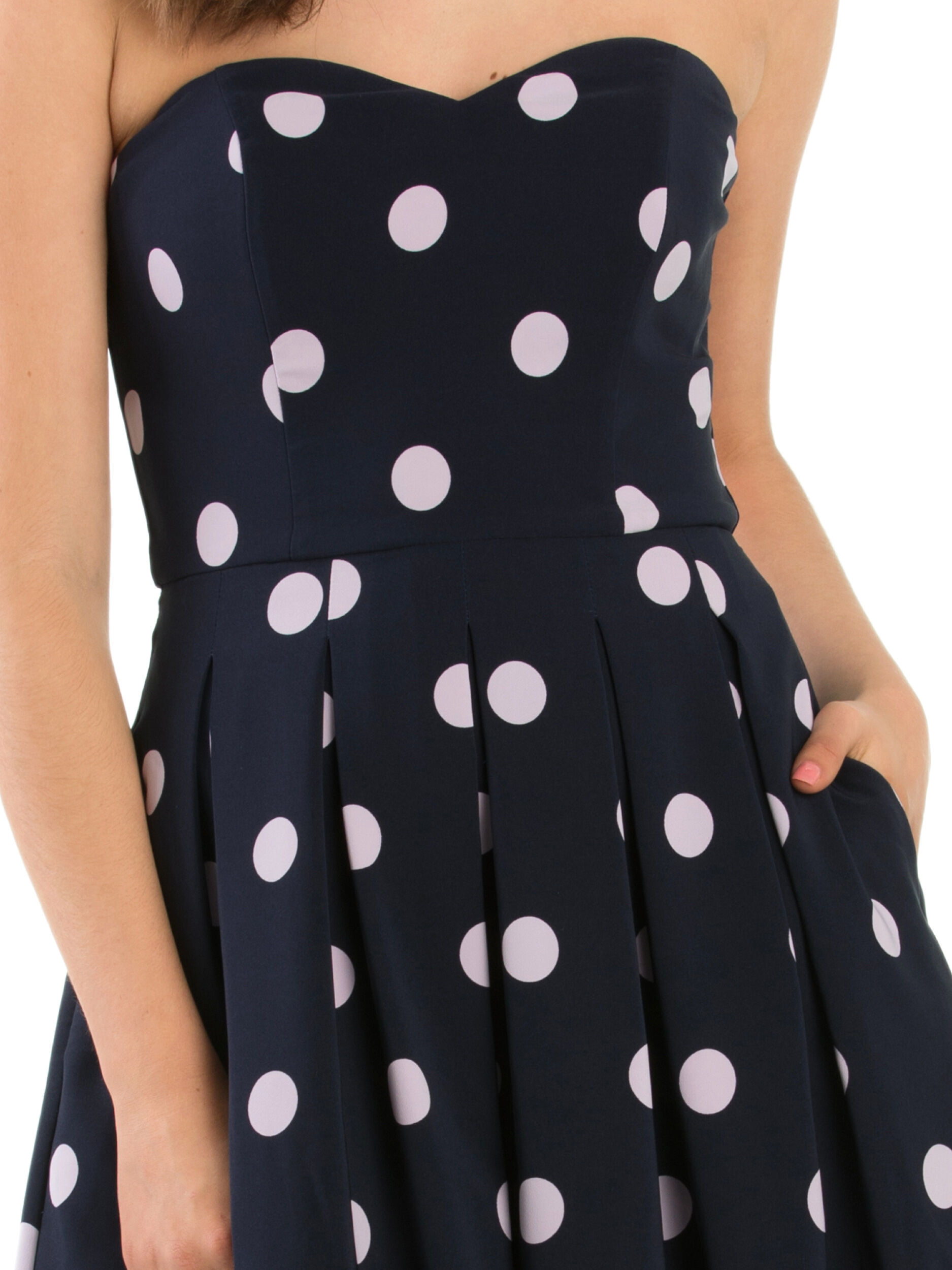 One To Love Strapless Dress