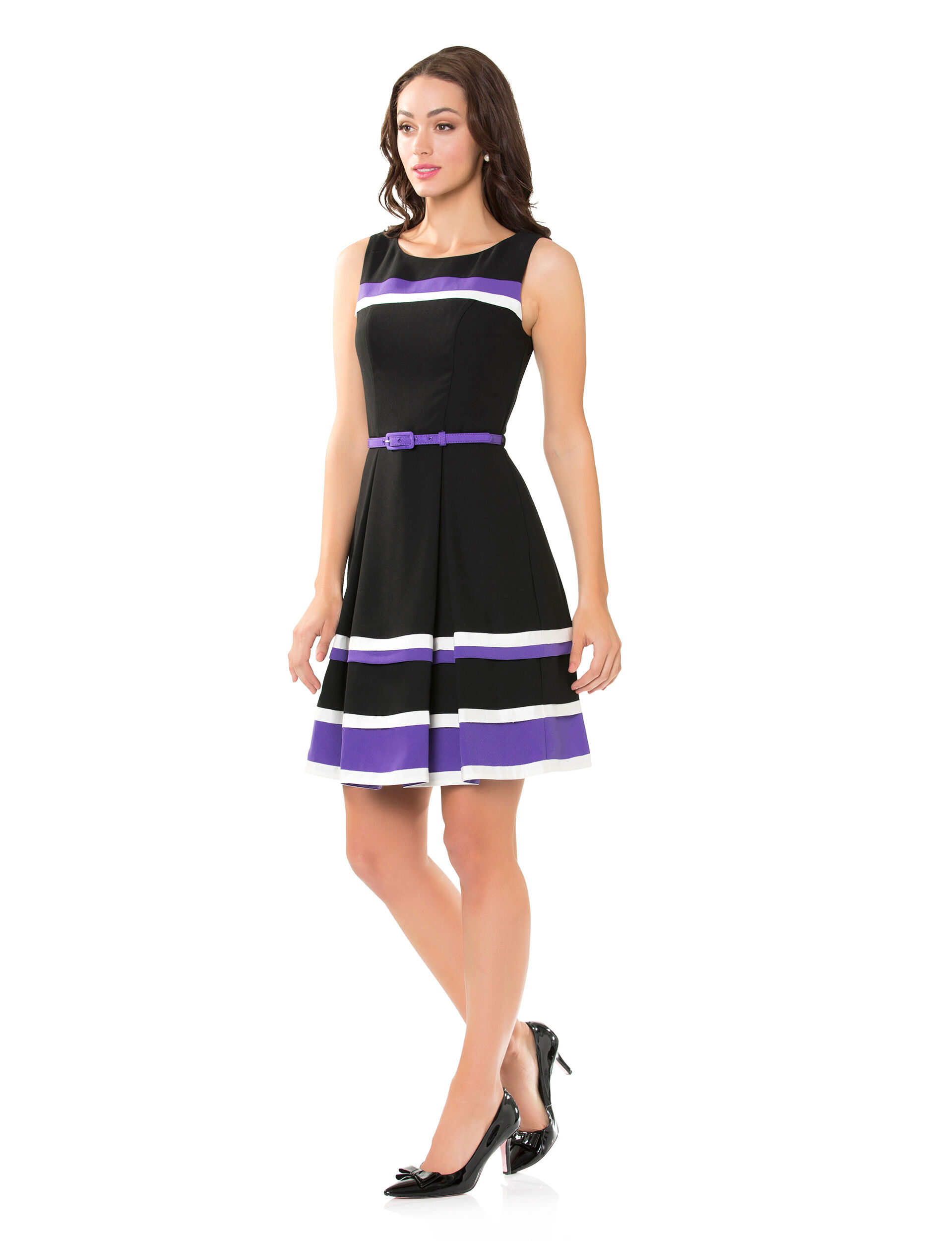 Chauvelle Stripe Dress
