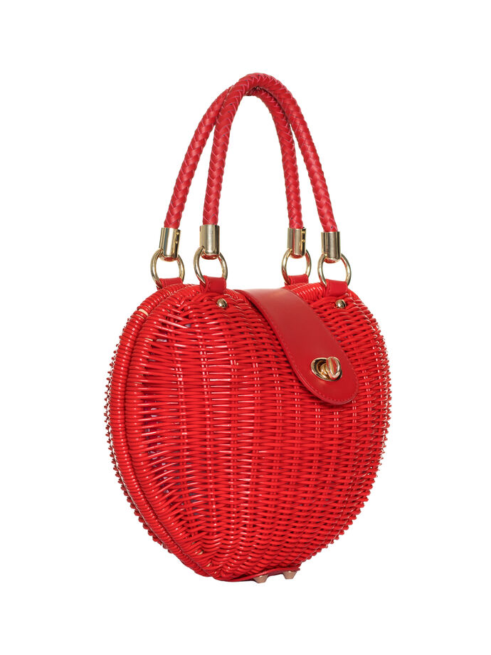 So In Love Wicker Bag