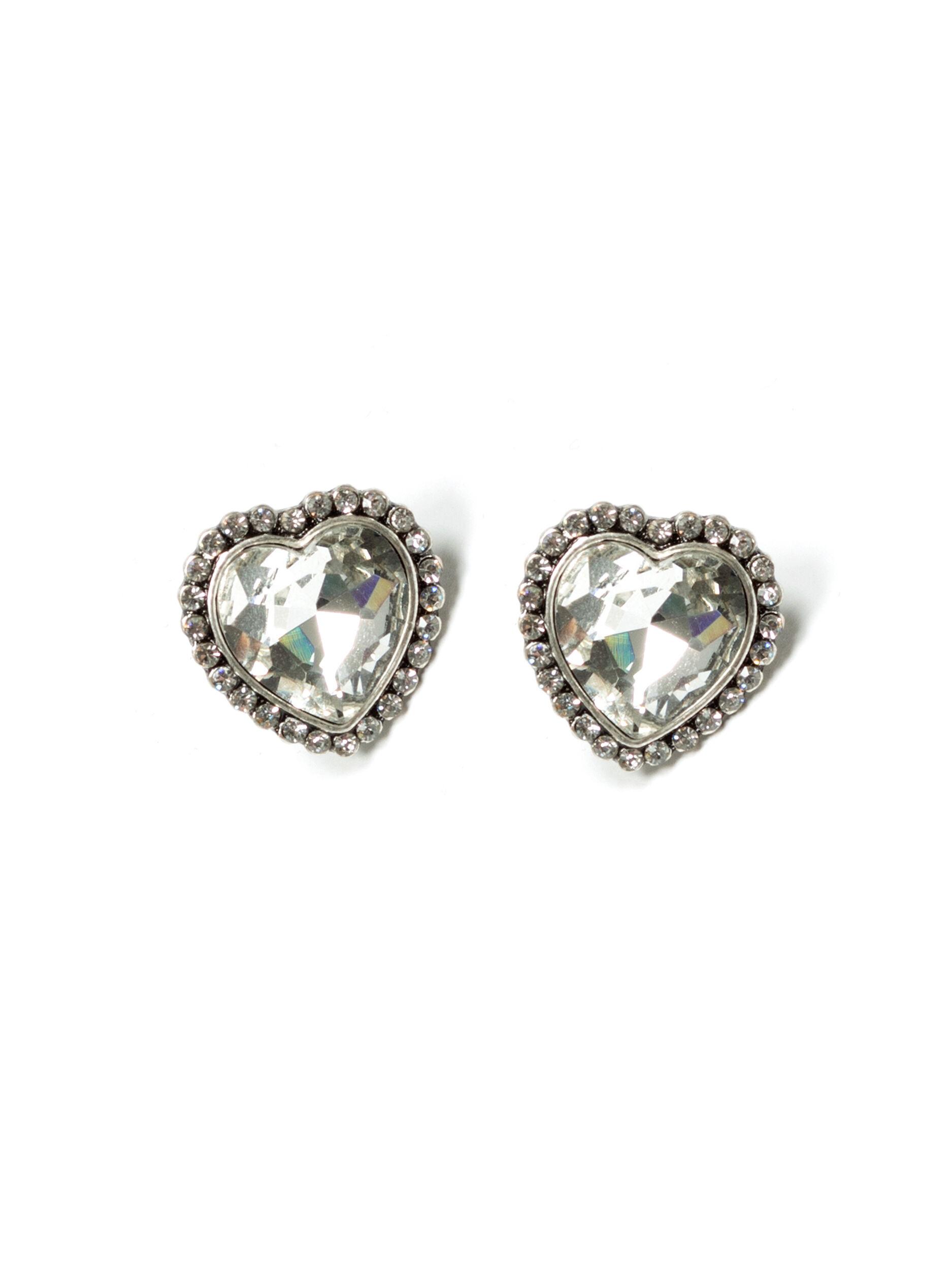 Ocean Heart Earrings