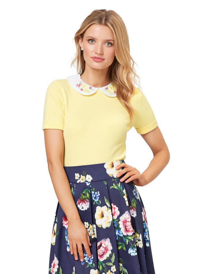 Daisy Chain Collar Jumper
