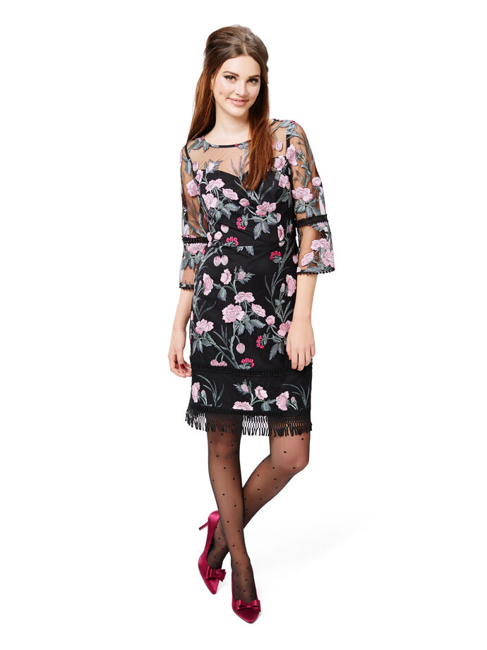 Flowers And Romance Dress