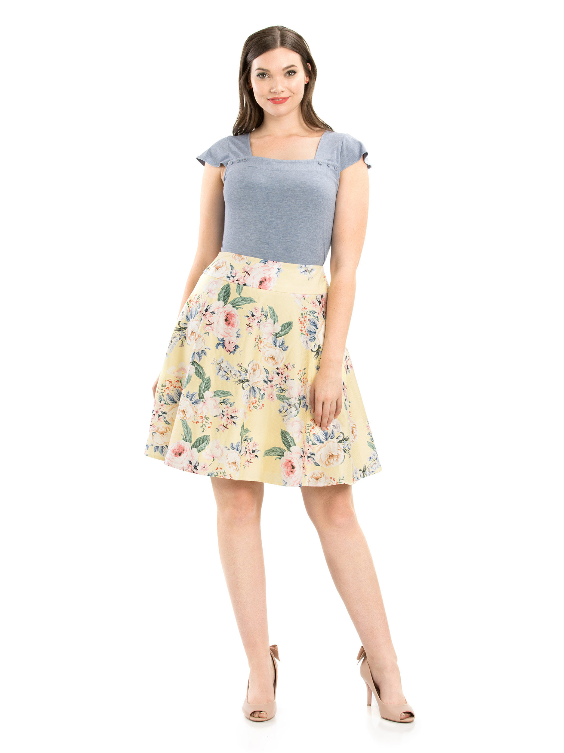 7547b65346 Neroli Floral Skirt | Shop Skirts Online from Review | Review Australia