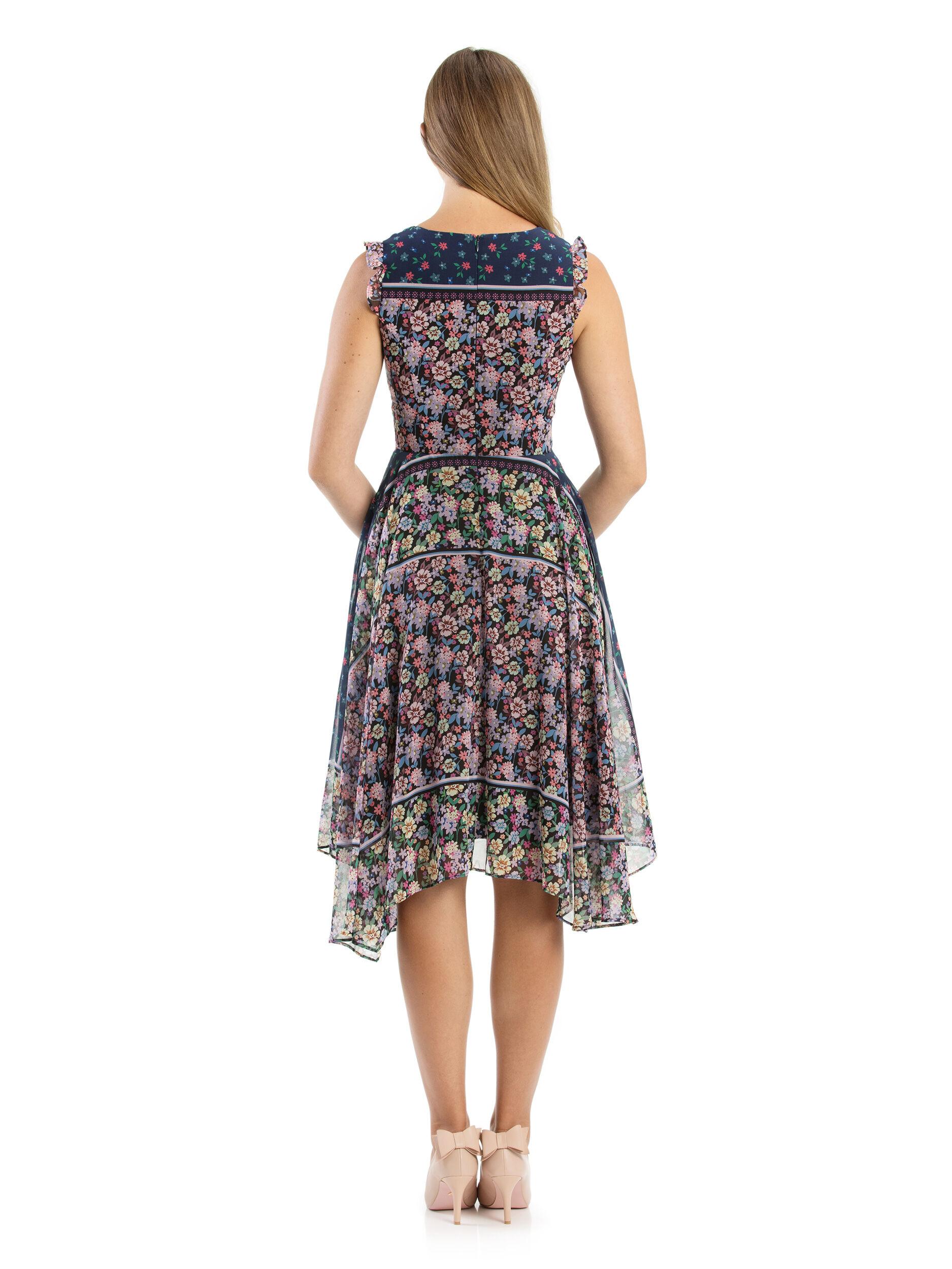 Vionnet Floral Dress