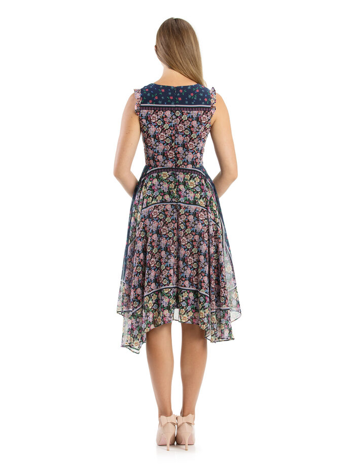 Vionnet Floral Dress