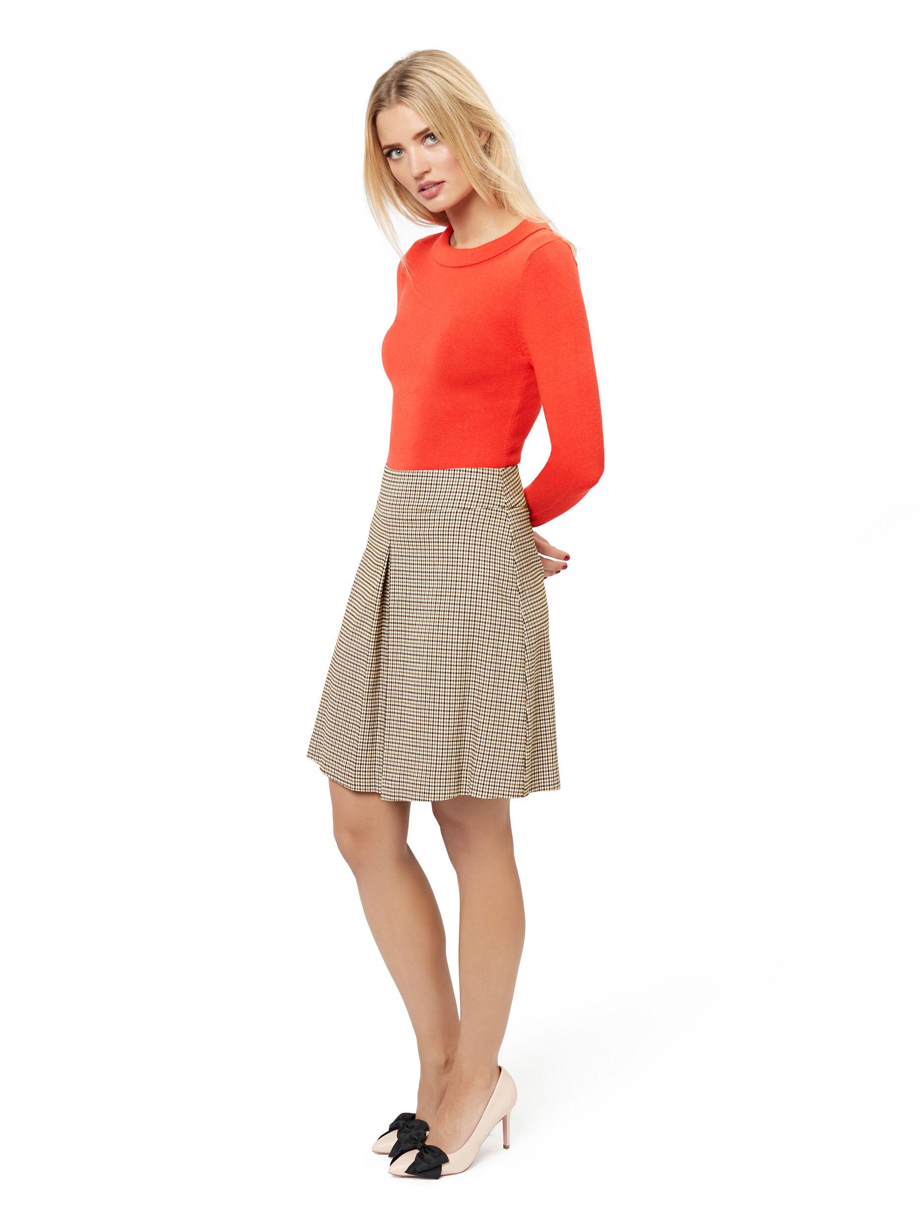 Chelsea Check Skirt
