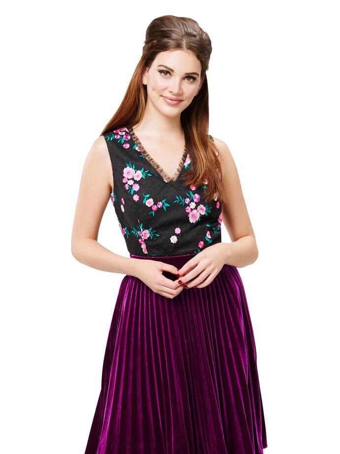 Frida Floral Top