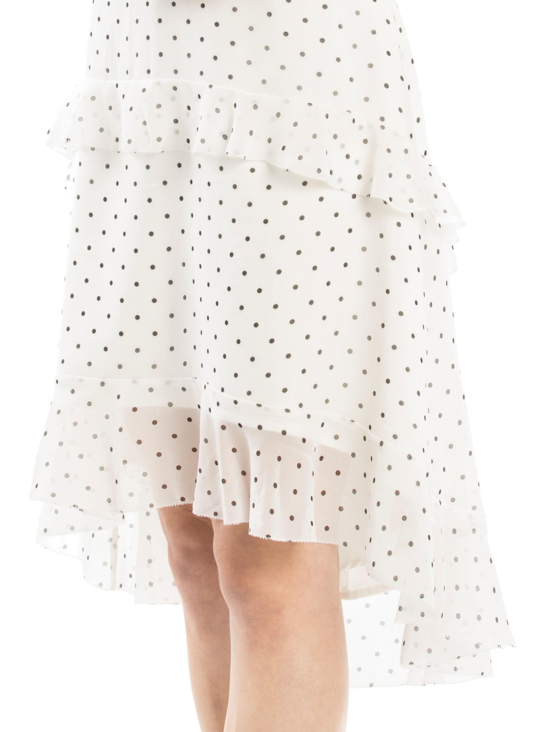 Meeka Spot Skirt