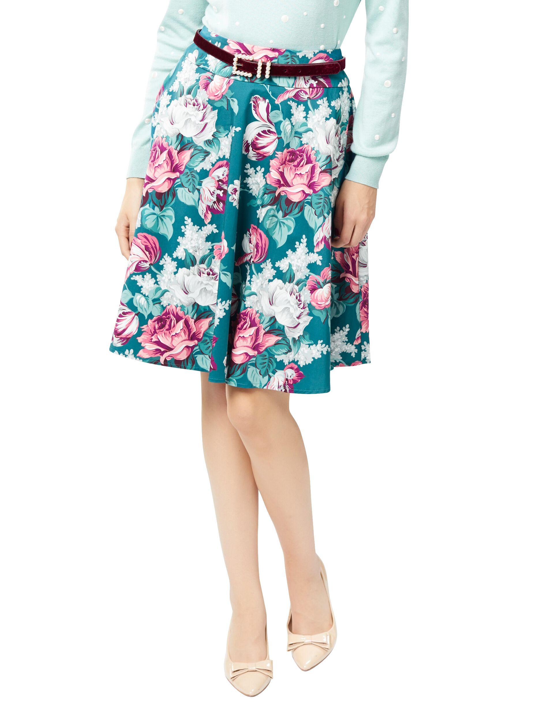 Venice Floral Skirt