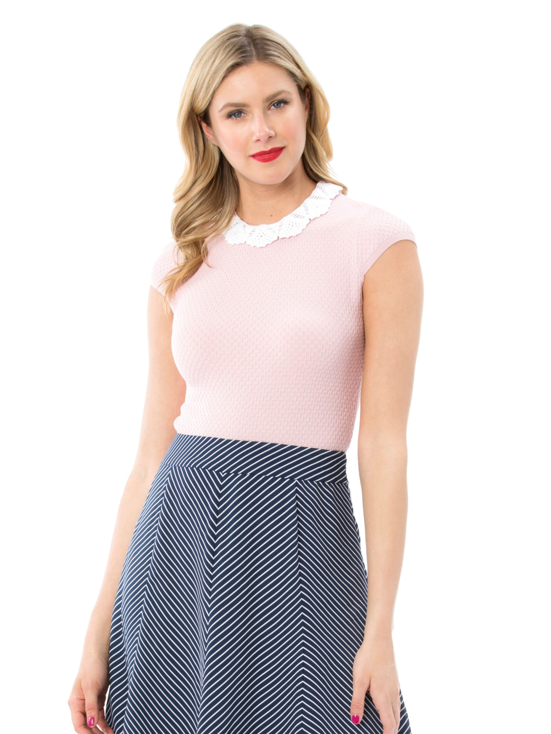 Claudine Knit Top