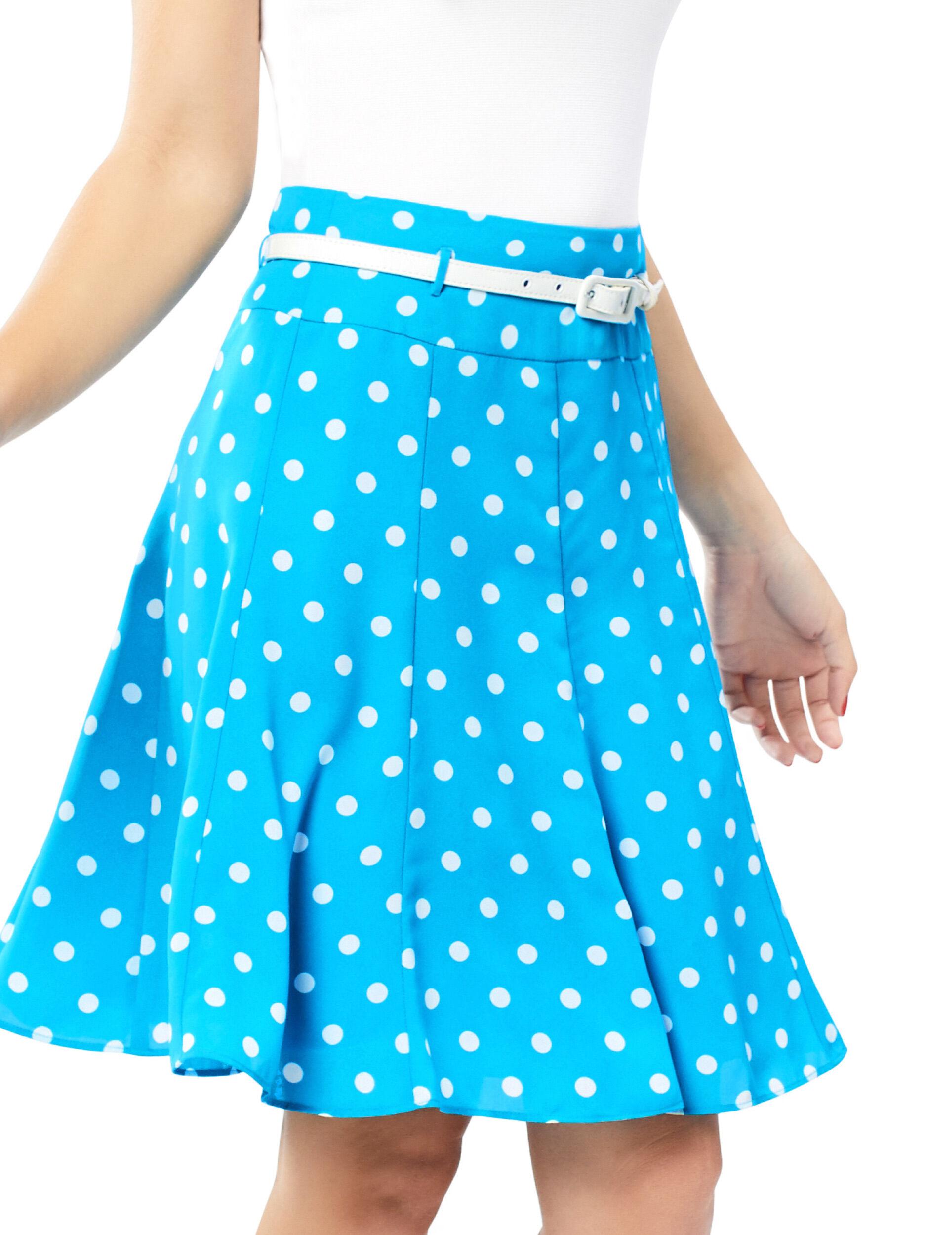 Serita Spot Skirt