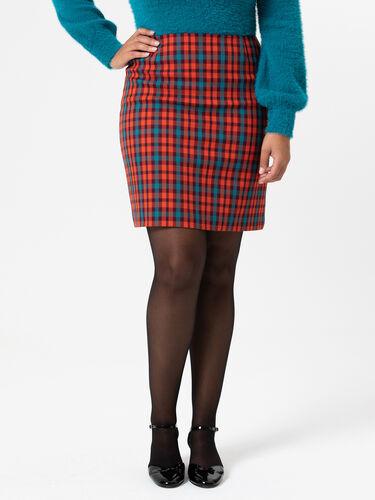 Nancy Check Skirt