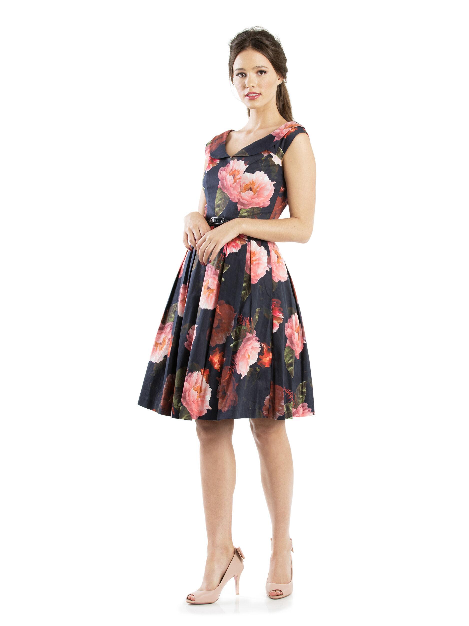 Mystic Floral Dress