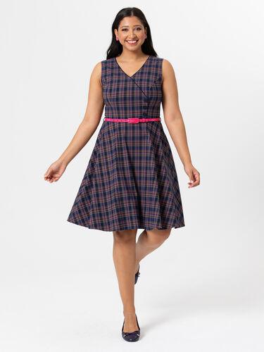 Lianne Check Dress