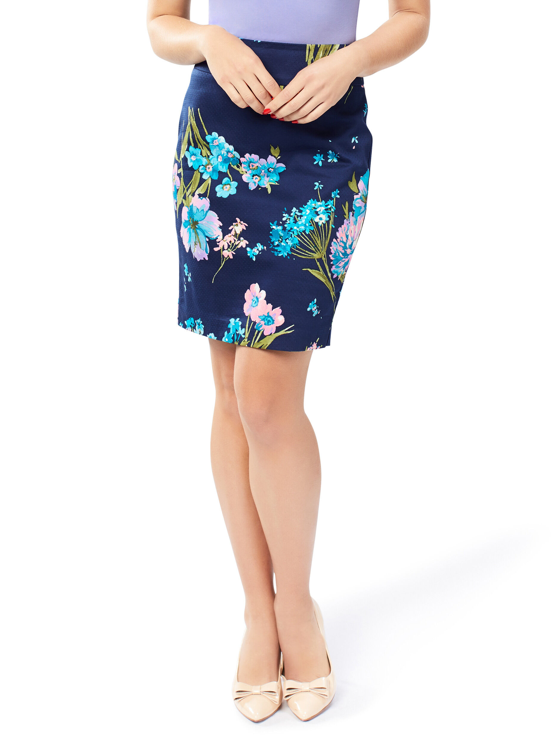 Icarus Floral Skirt