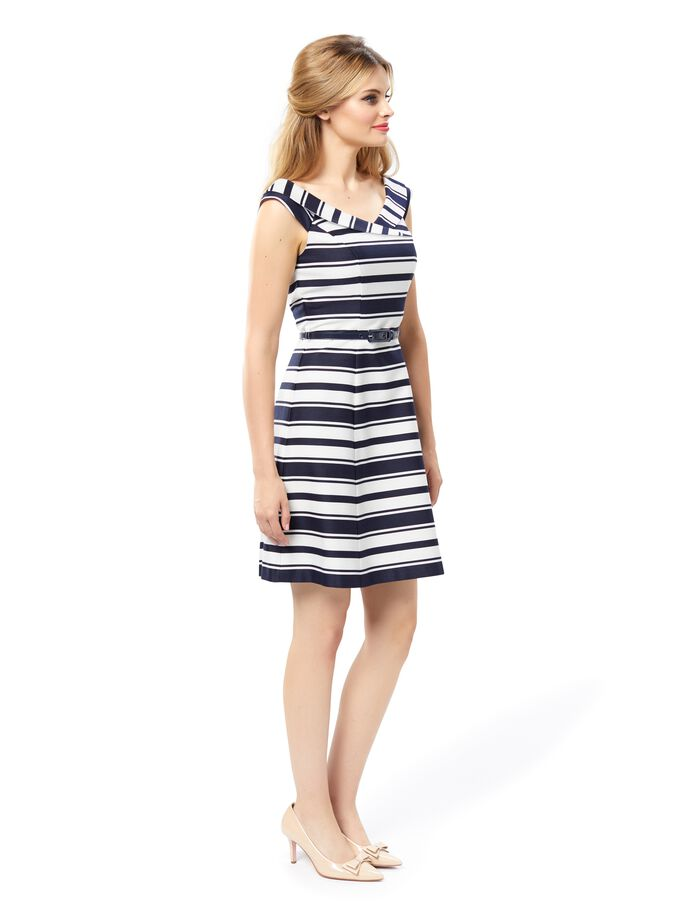 Marquise Stripe Dress