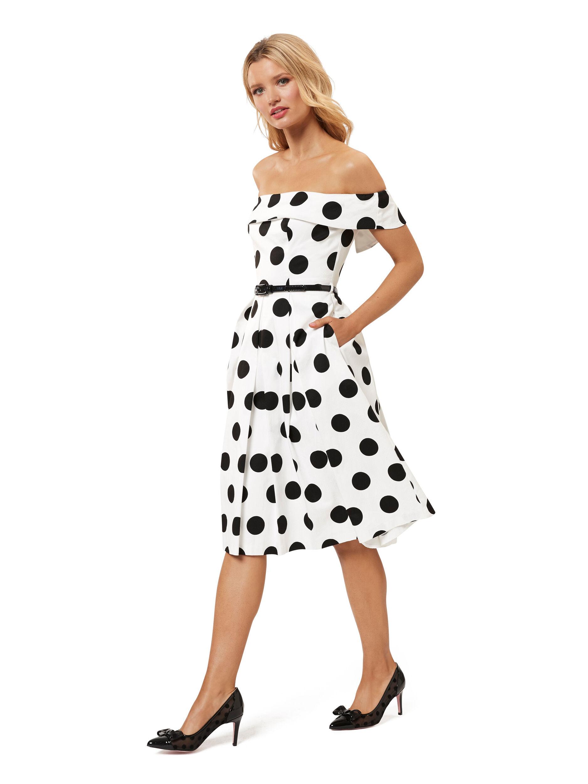 Monaco Spot Dress