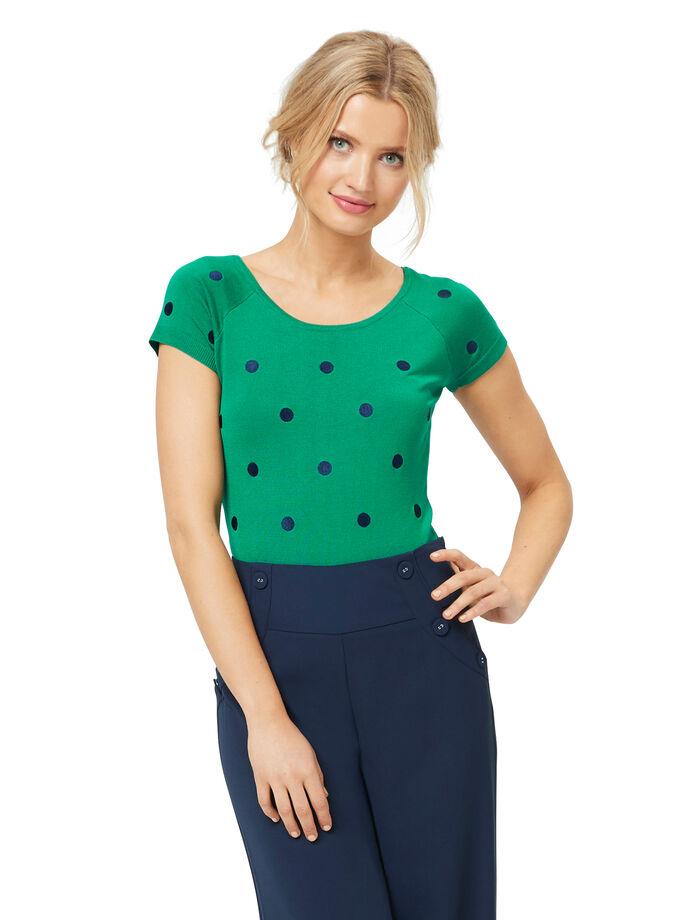 Lovely Ladybug Knit Top