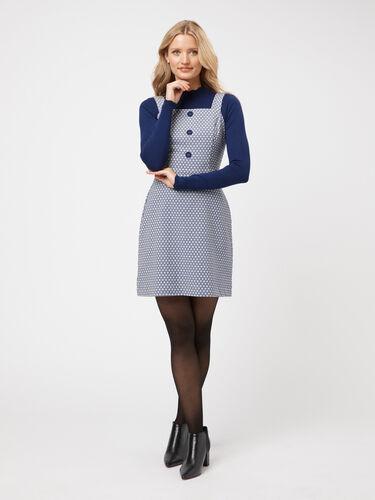Greta Geo Pinny Dress