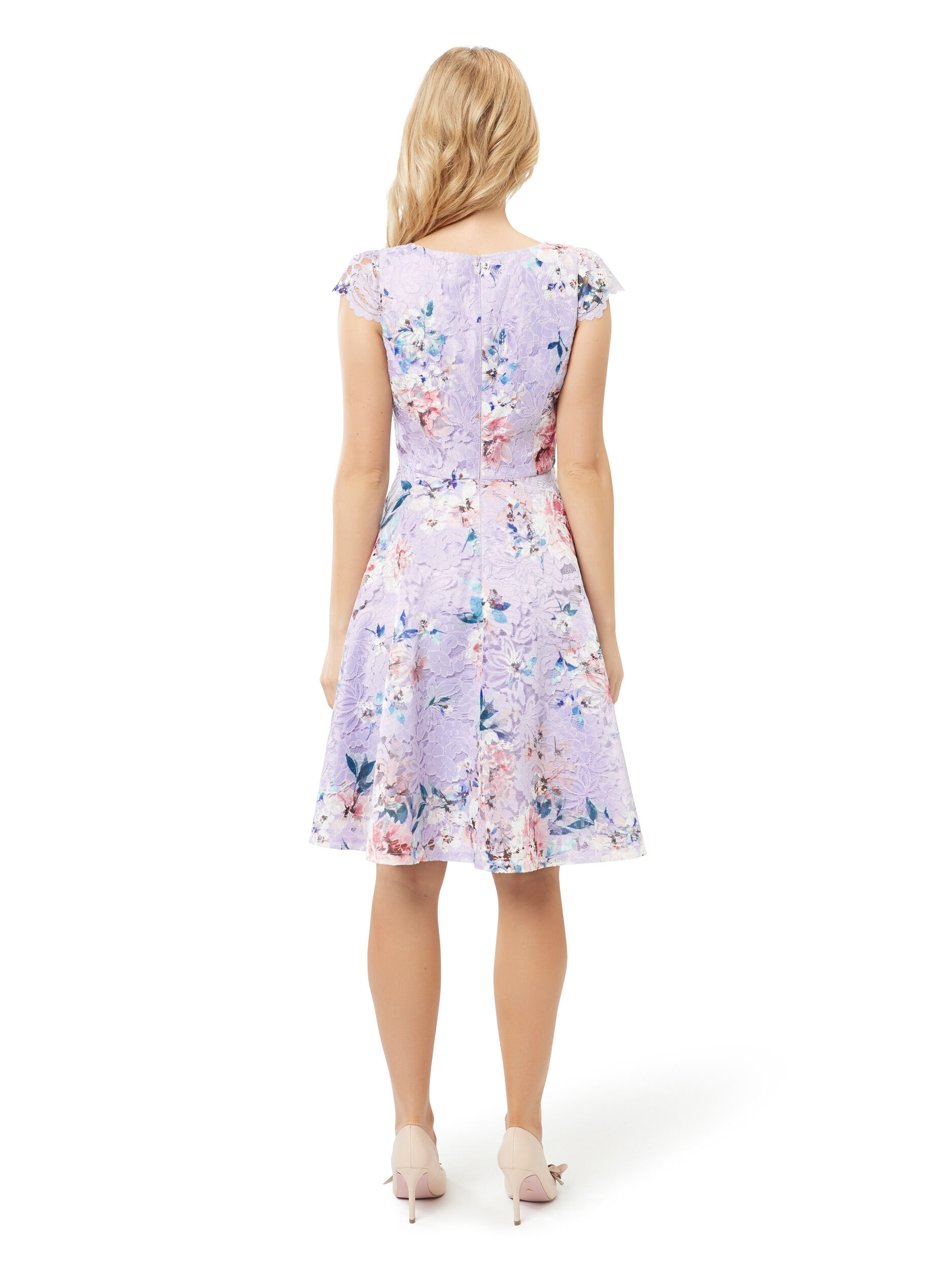 Peony Rose Lace Dress