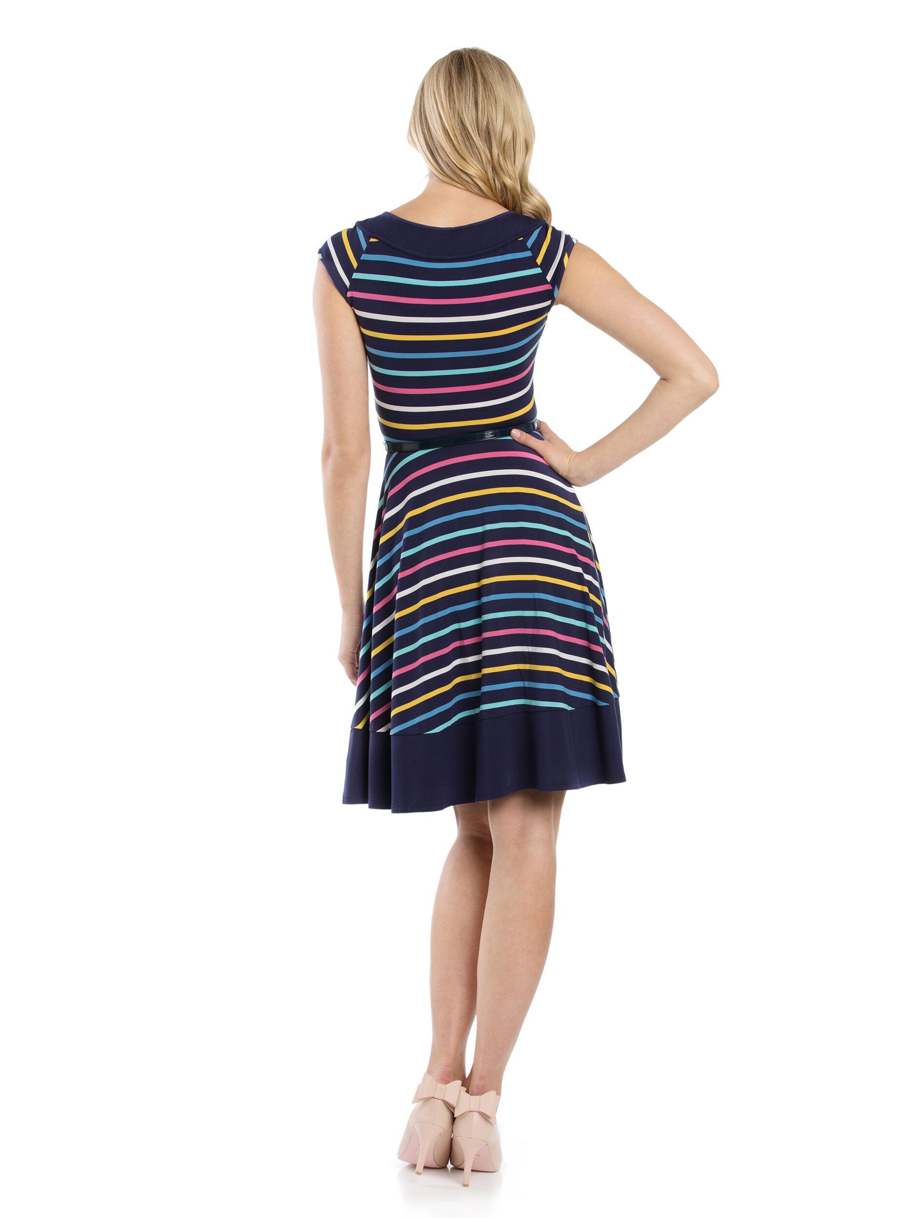Lila Stripe Dress