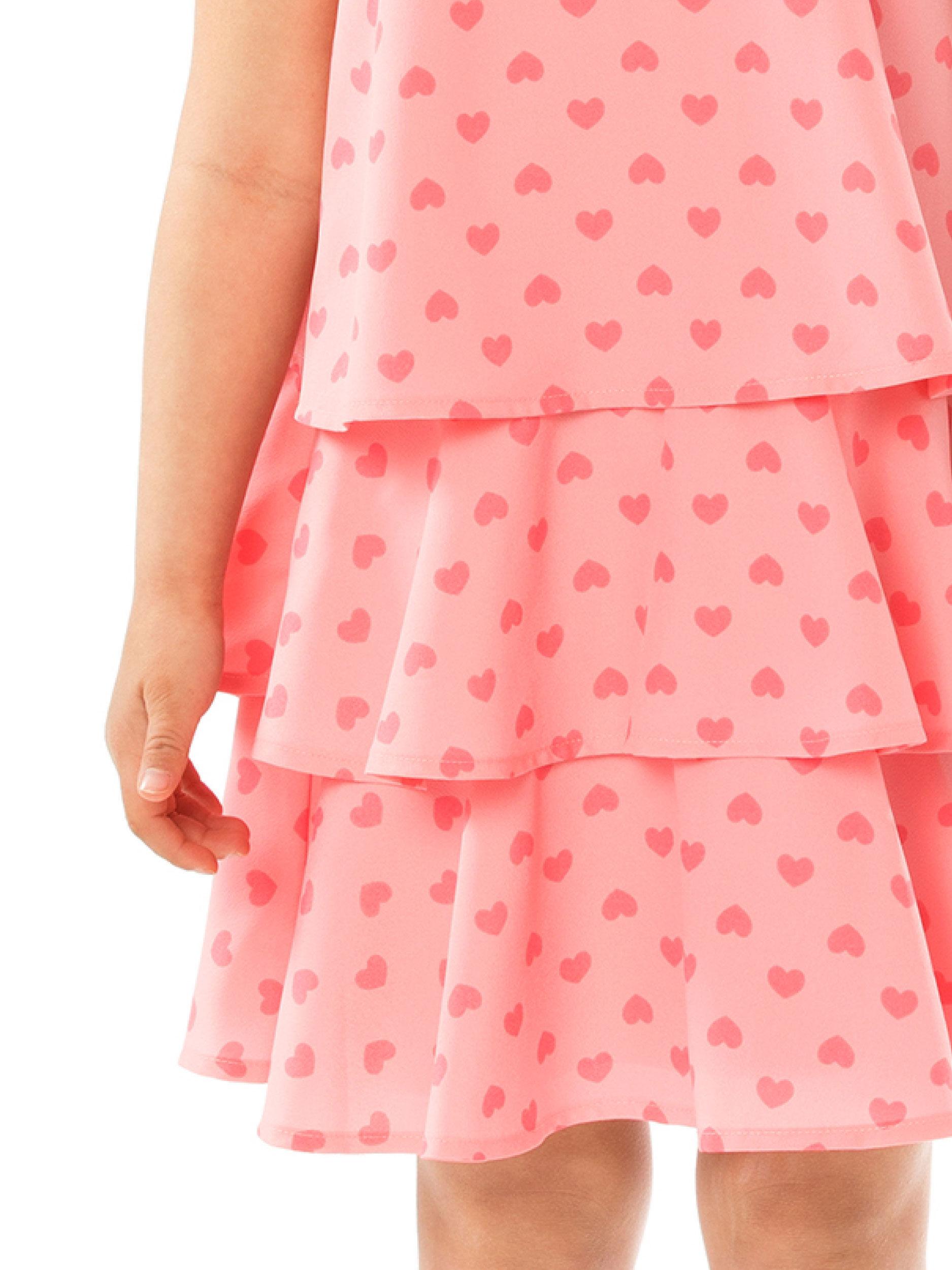 3-7 Girls Heart Dress
