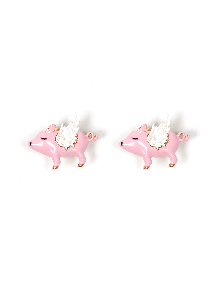 Pigs Can Fly Stud Earrings