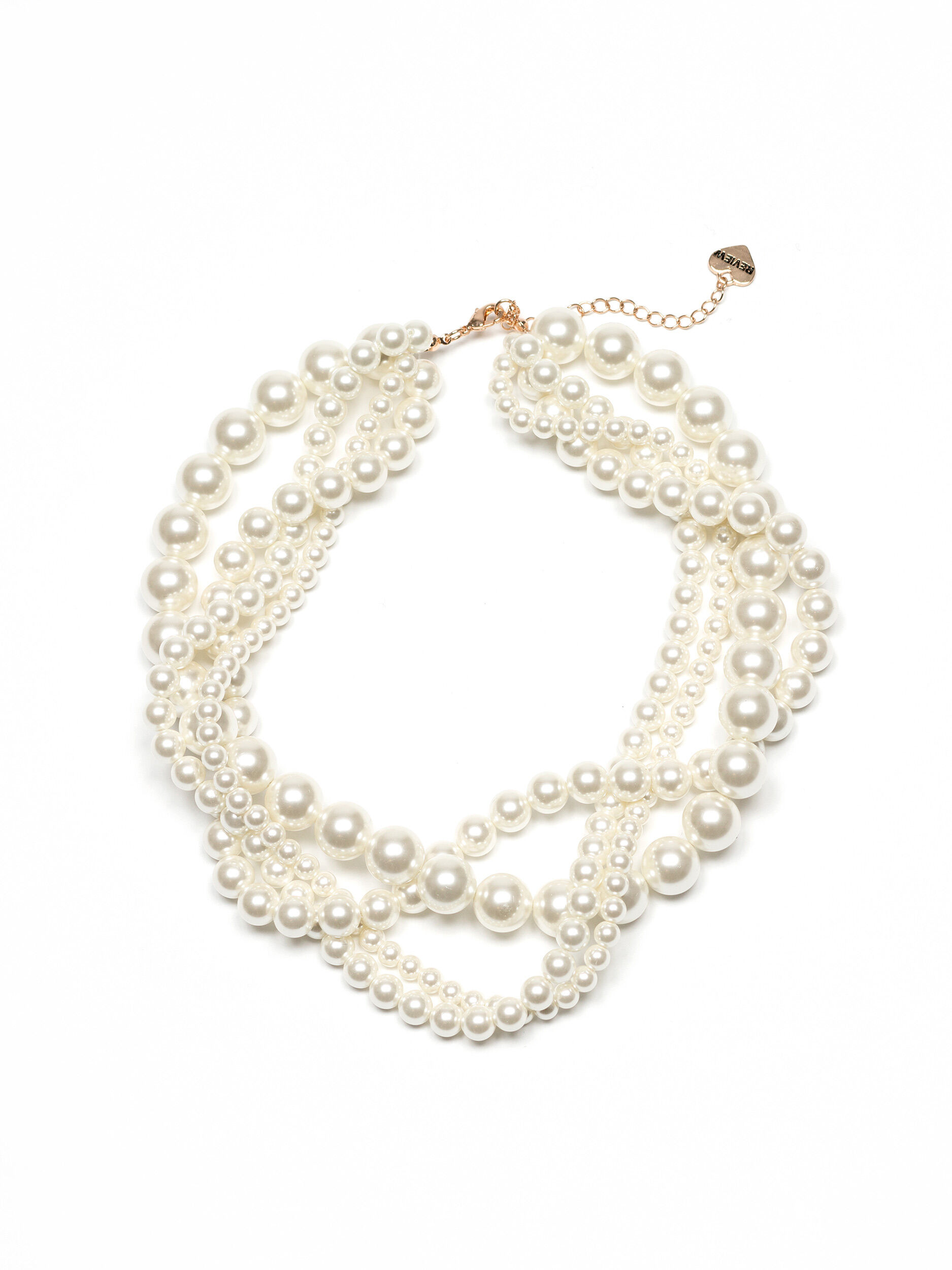 Heart Of Pearls Necklace
