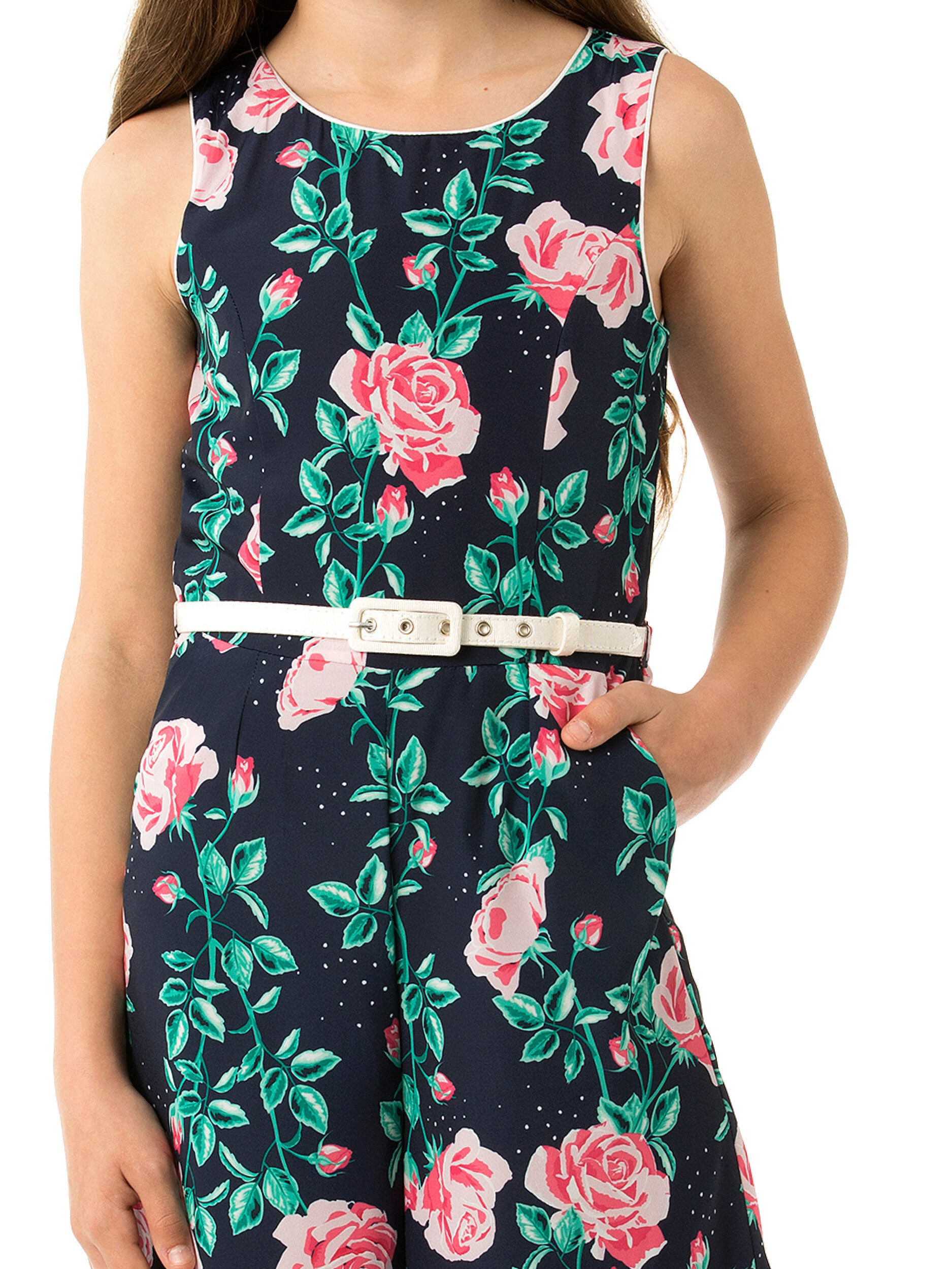 8-16 Girls Review Wide Leg Playsuit