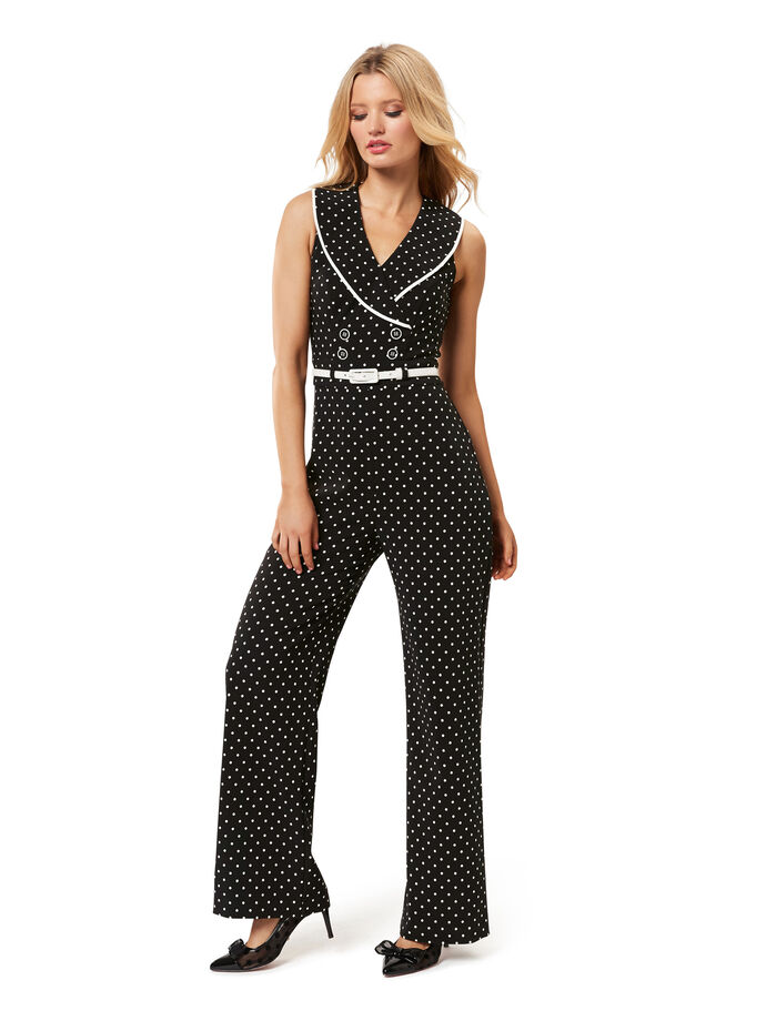 Ahoy There Spot Jumpsuit