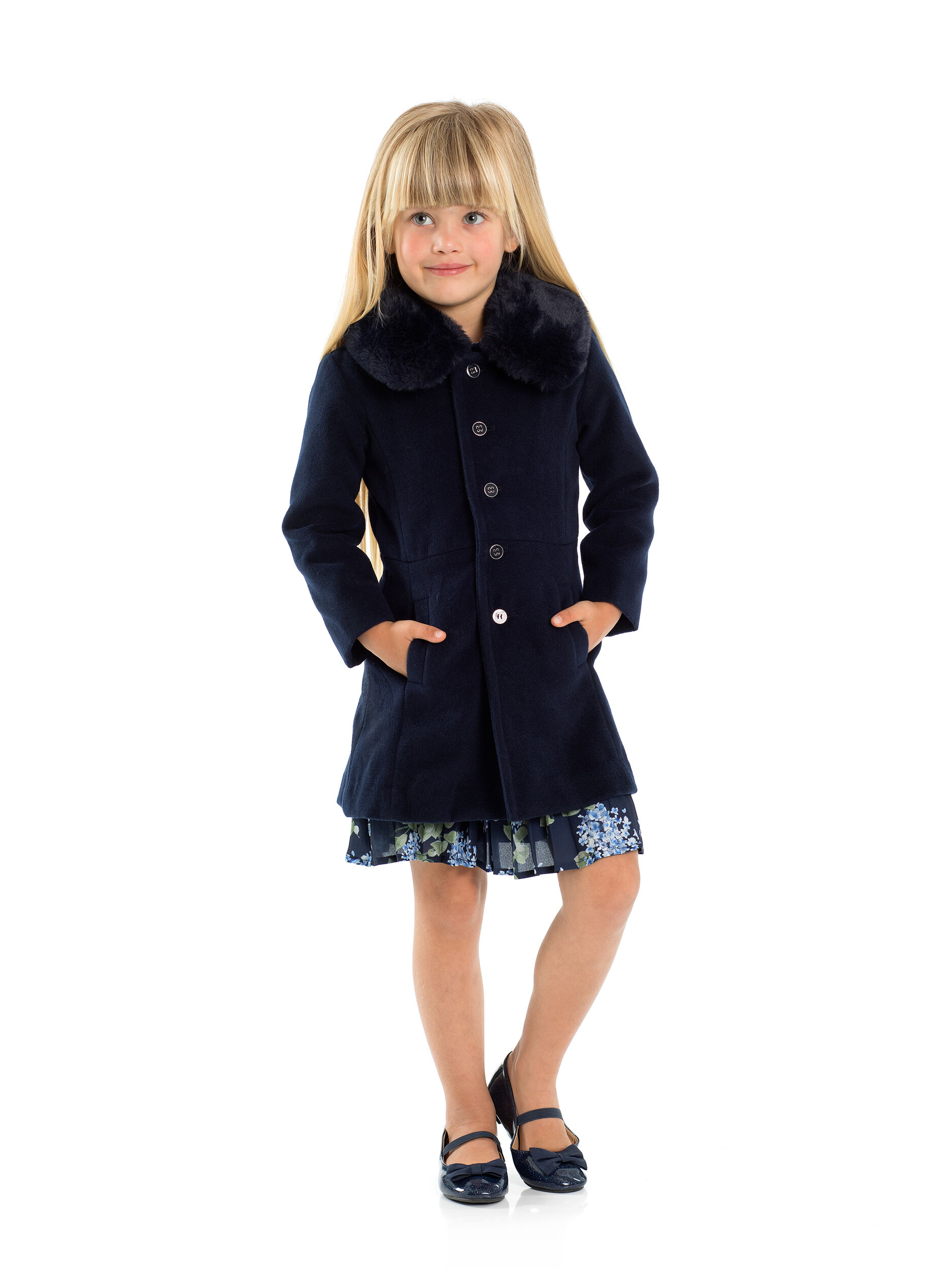 3-7 Girls Sally Coat