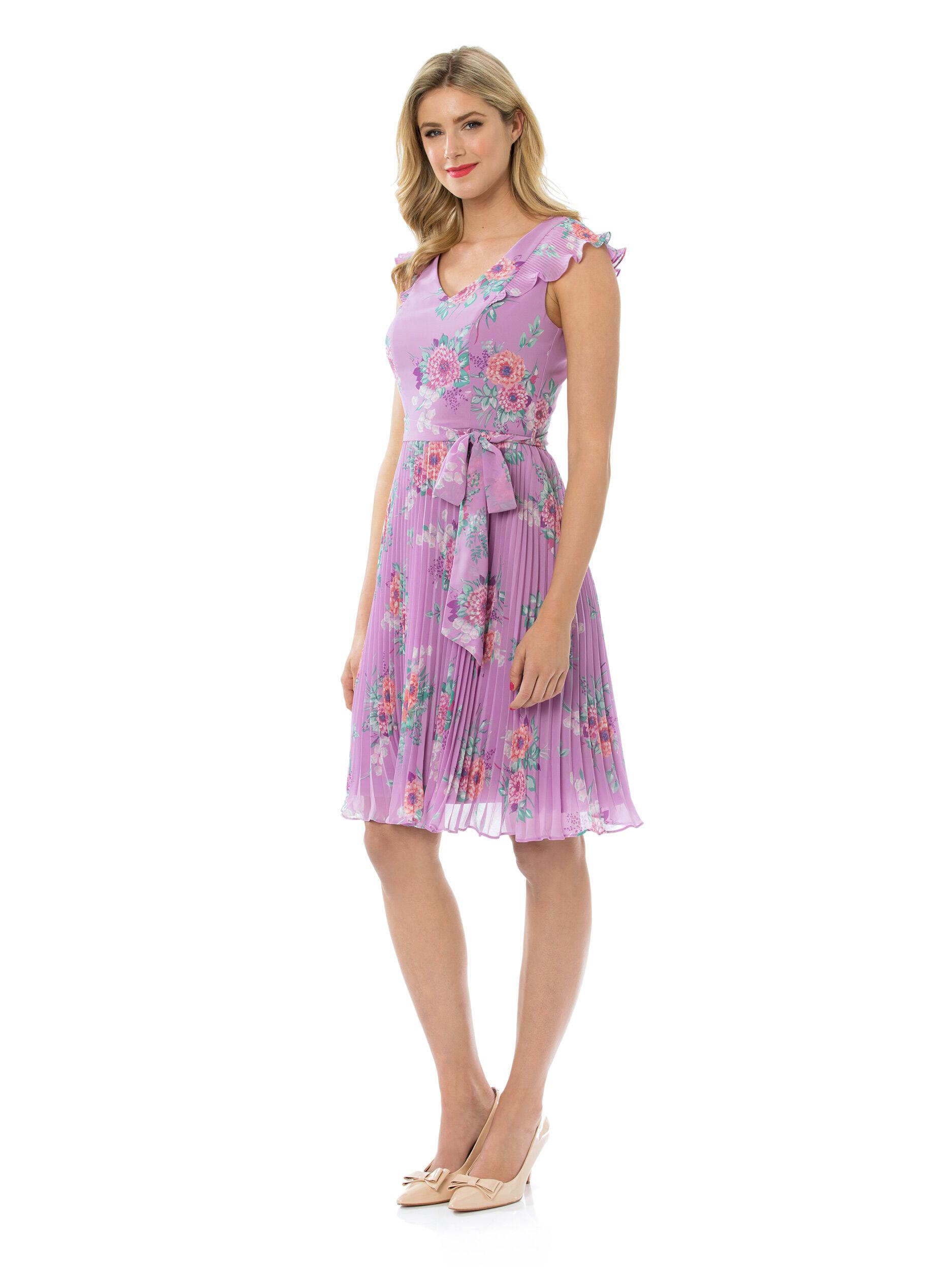 Floral Pop Dress