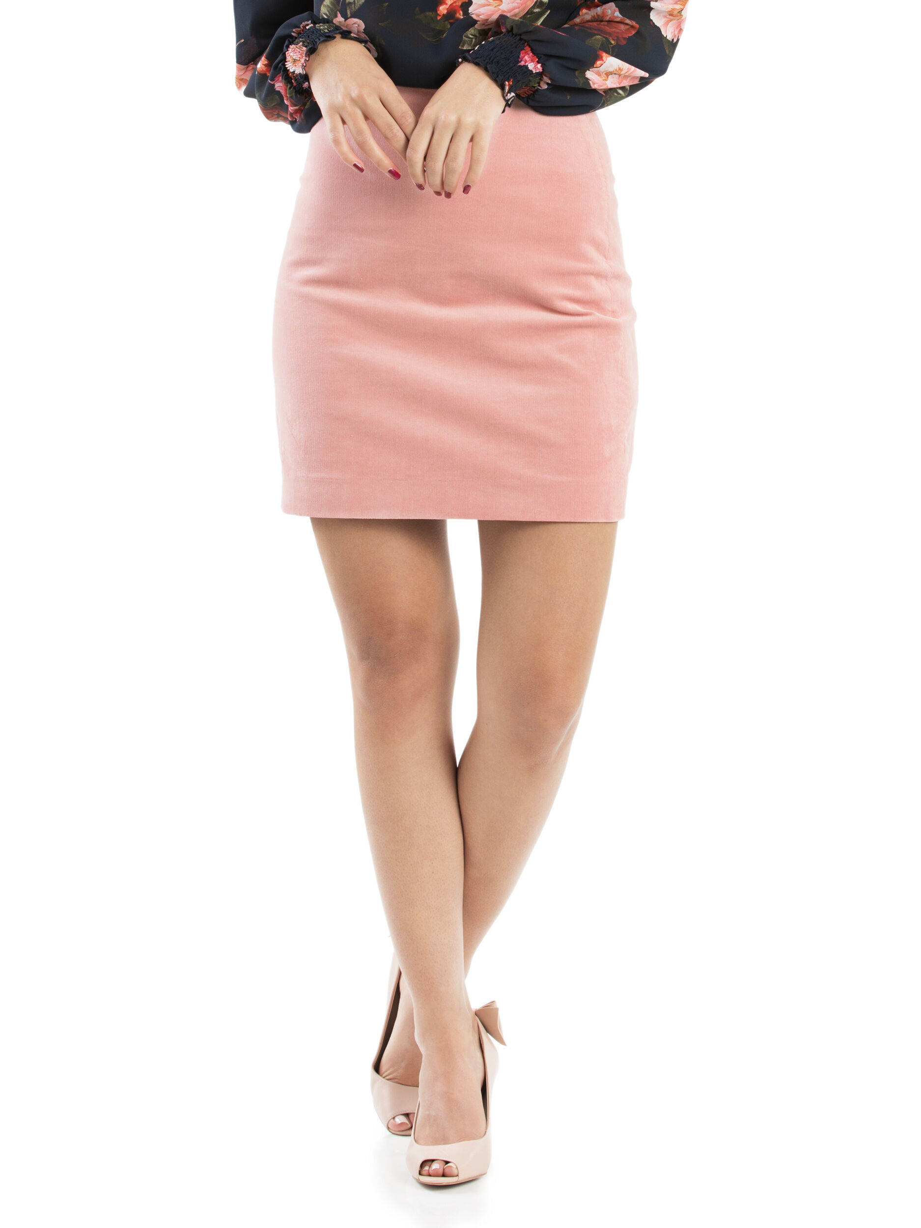 So Plush Mini Skirt