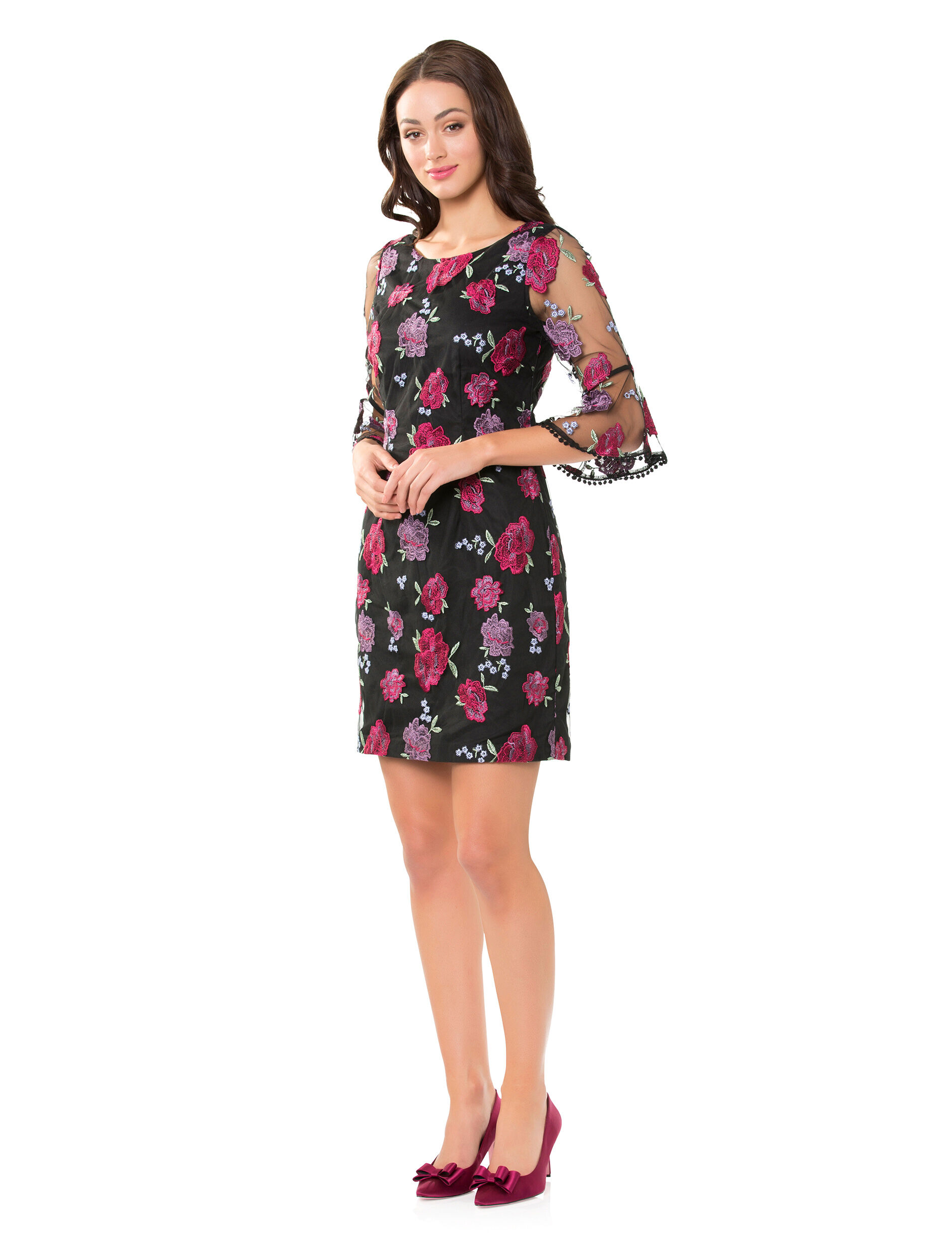 Azzurra Floral Dress