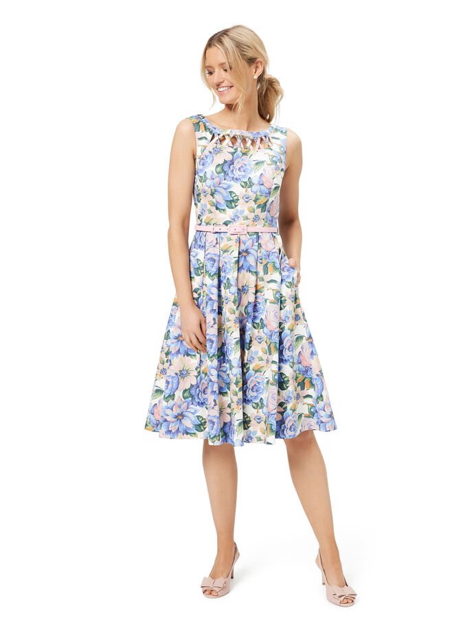 Fangirl Floral Dress