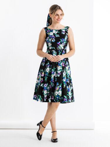 Midnight Bloom Dress