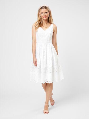 White Dahlia Dress