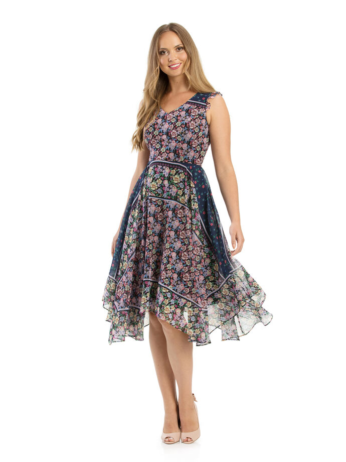 0a3bad35db Vionnet Floral Dress