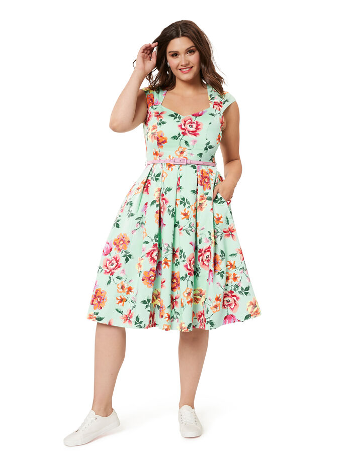 Shenae Floral Dress
