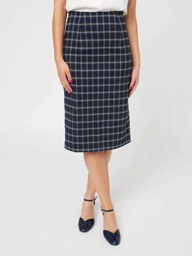 Astra Check Skirt