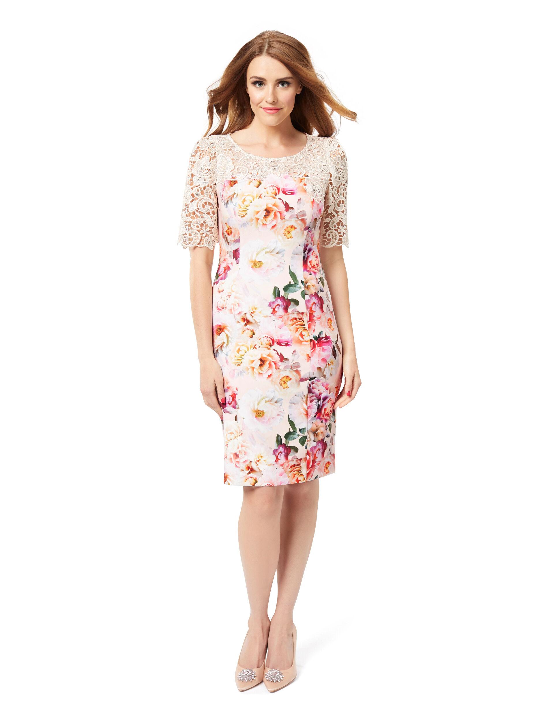 Peach Blossom Dress