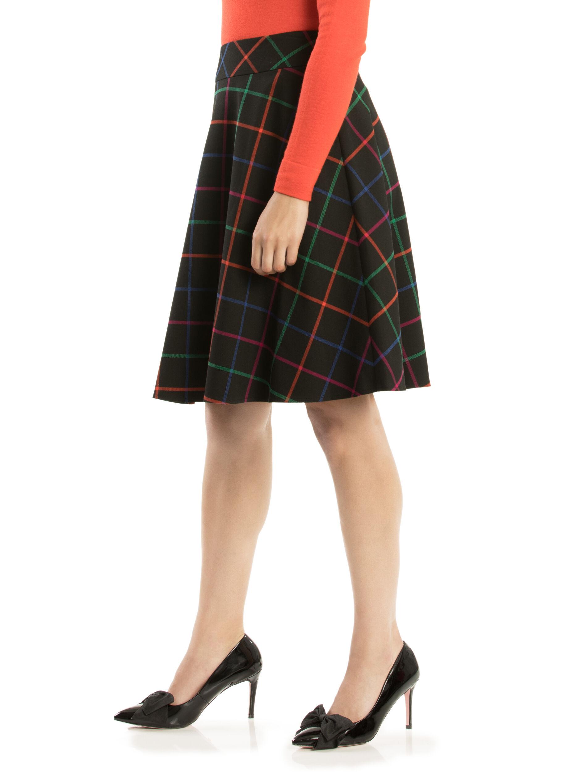 Caity Check Skirt
