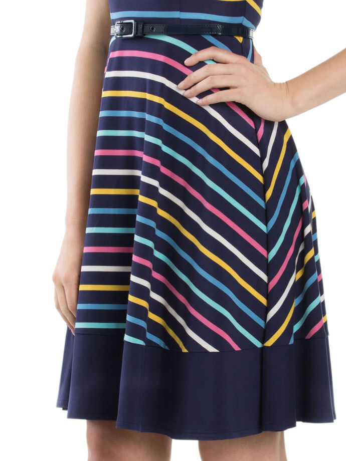 Lila Stripe Dress
