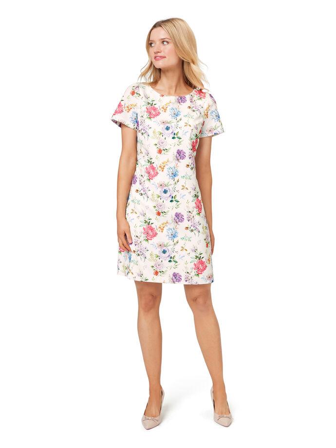 Magic Garden Shift Dress