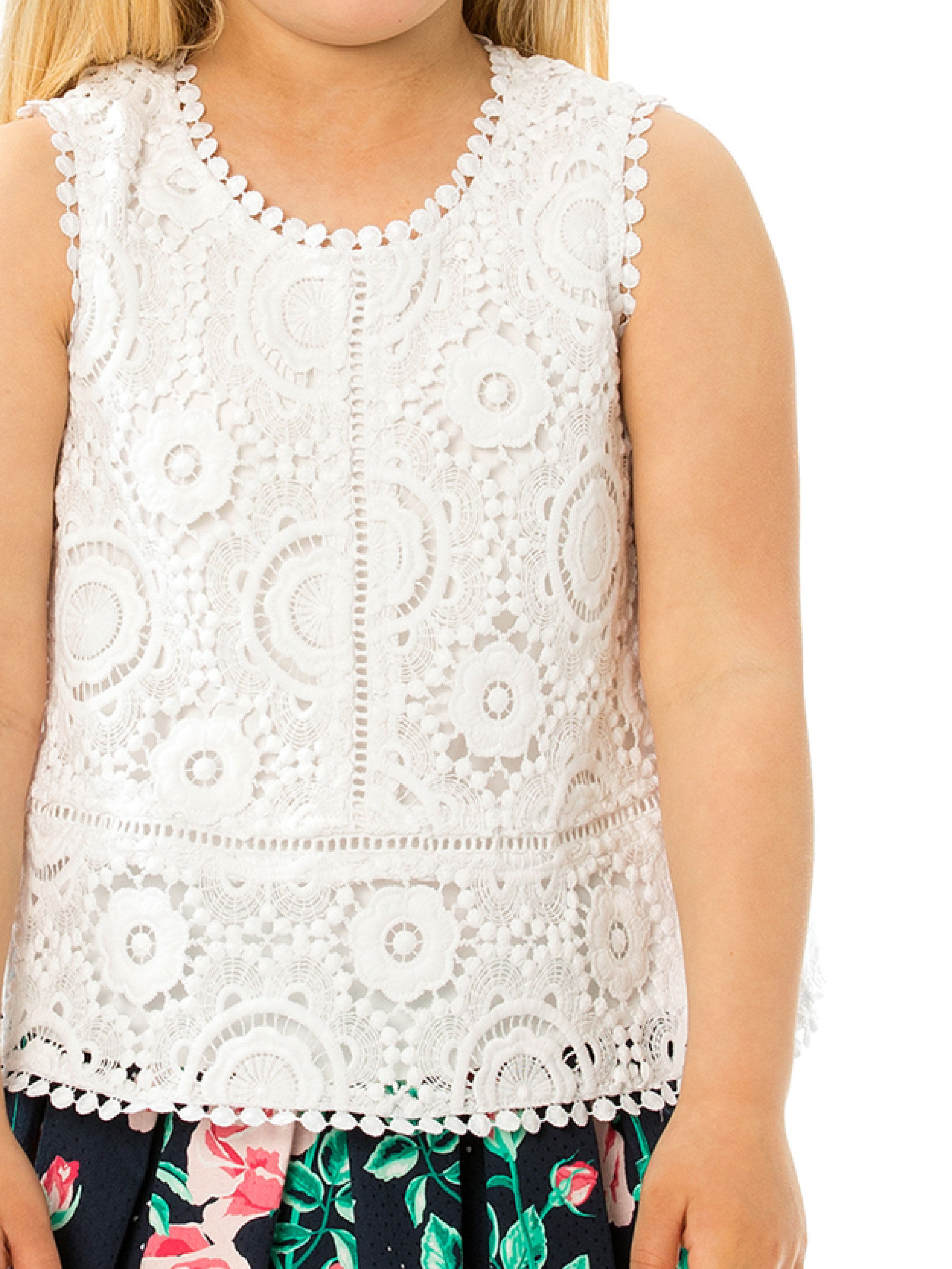 3-7 Lace Top