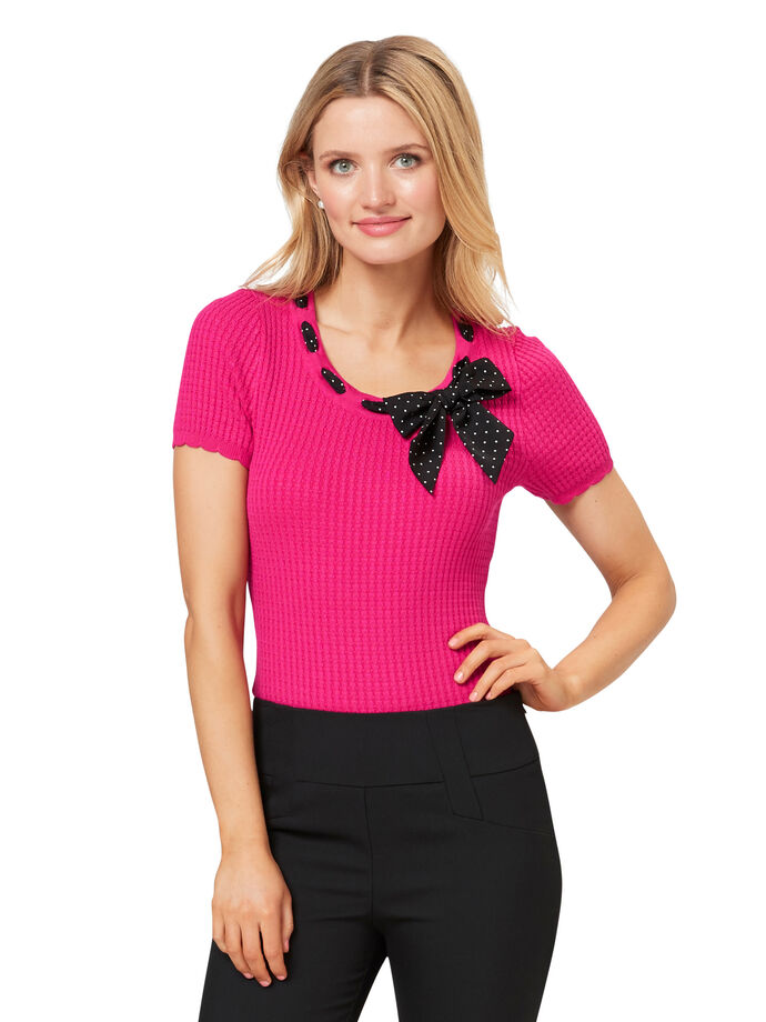 Iris Neck Tie Top