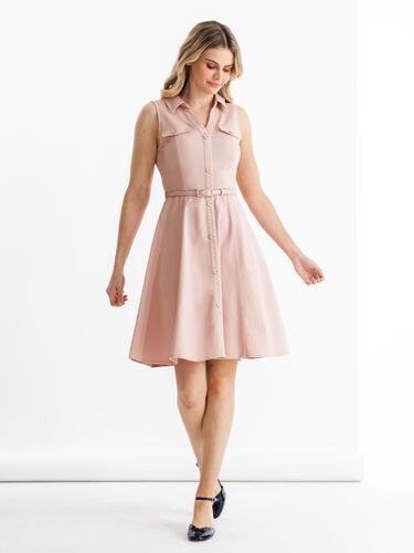 Priscilla Twill Shirt Dress