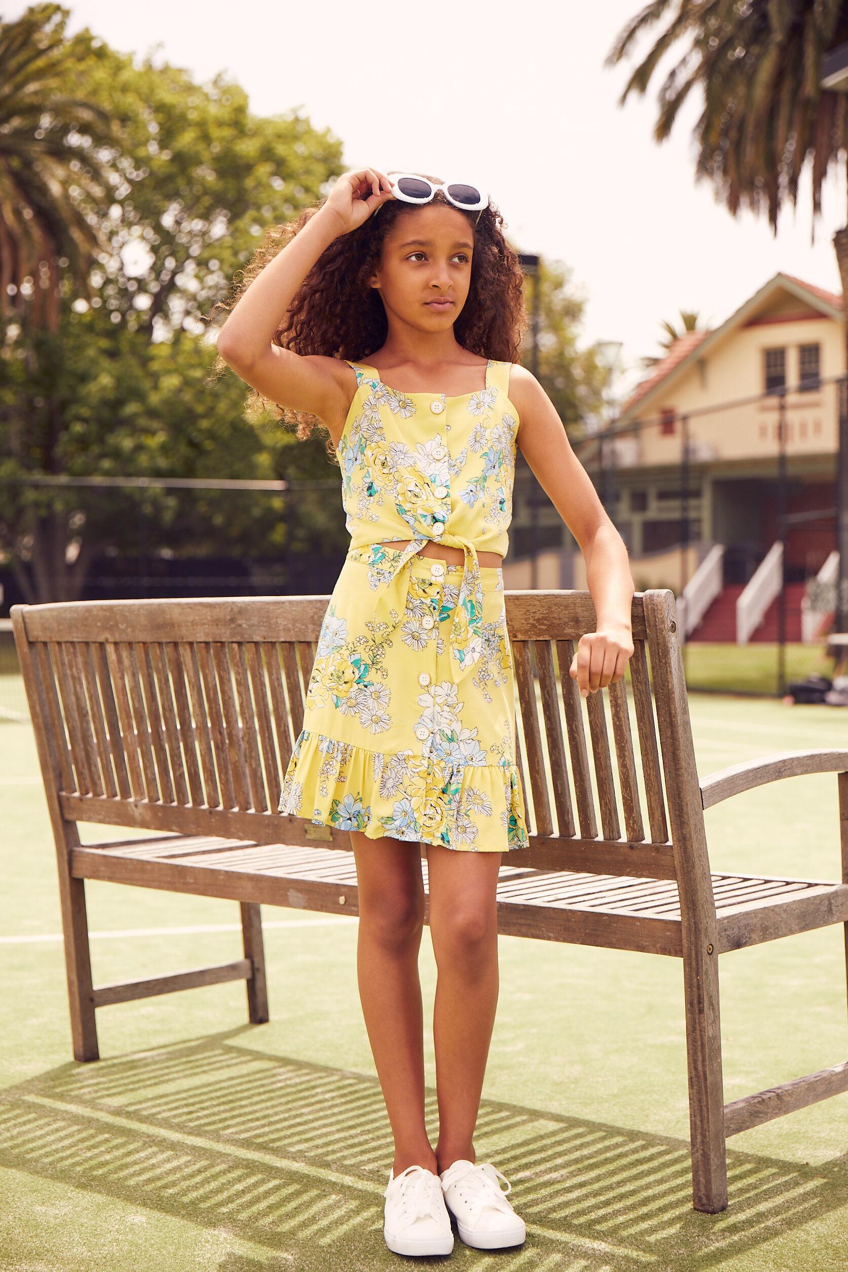8-14 Girls Co-ord Skirt
