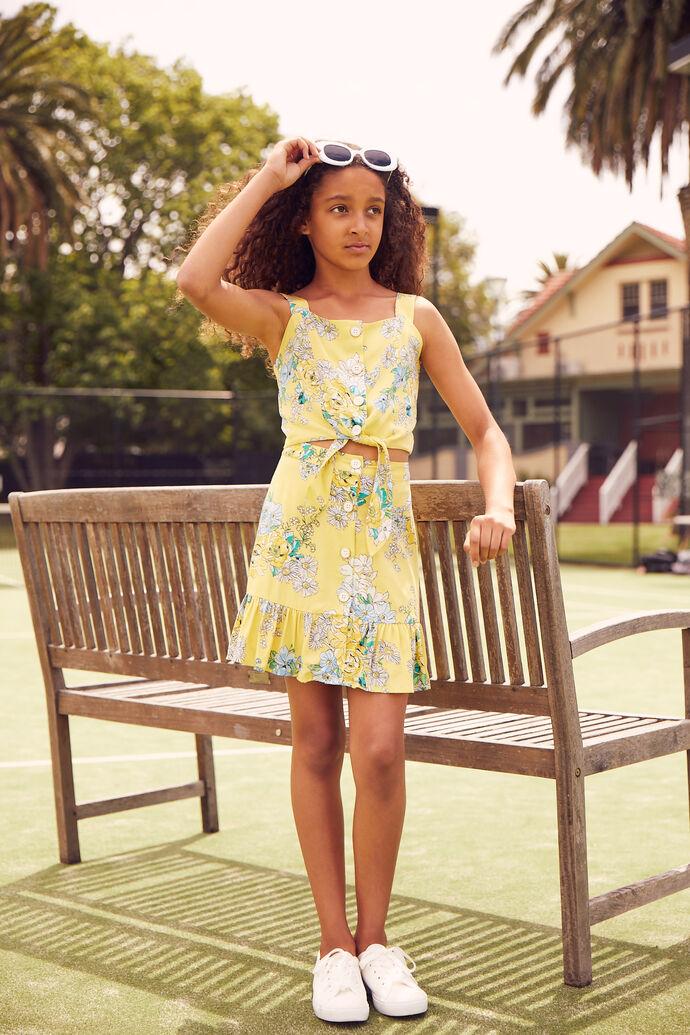 8-14 Girls Review Co-ord Skirt